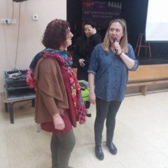 סיגל ורותי – פעילות הבריאות הנמרצות שלנו יזמו יום בריאות האשה, הזמינו מרצות והפעילו את הקהל, כל הכבוד!!
